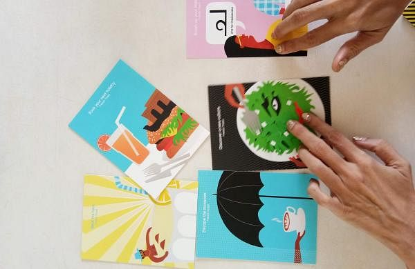 Vanessa Meister Varma has designed a range of postcards for the initiative