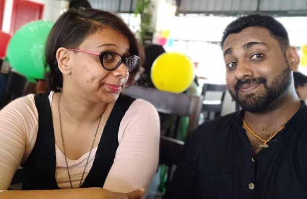 Akshata Bhadranna and Rahul Pagad