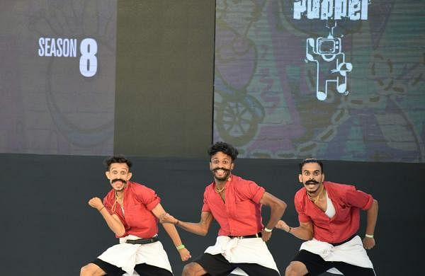 Dzone Crew members at the Indian Hip Hop Championship 2019