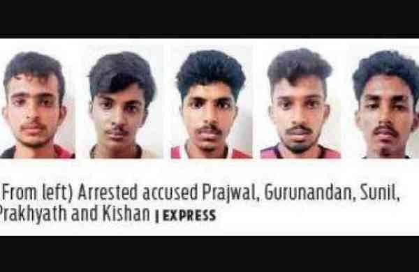 Police arrest five youth