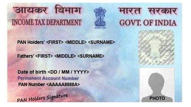 Pan Card file tax returns
