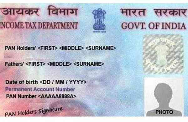Pan Card file tax returns