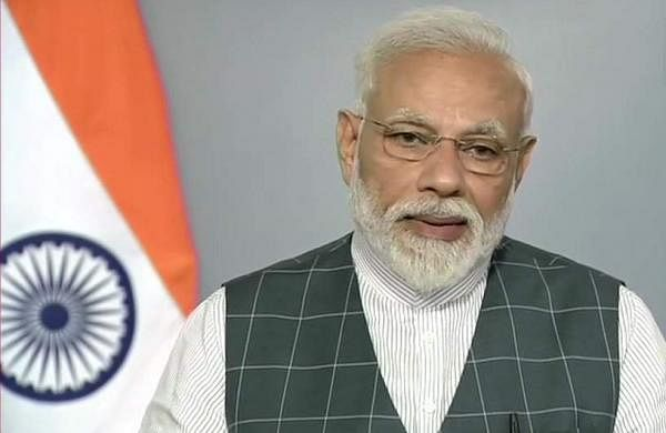 Modi's address LIVE update