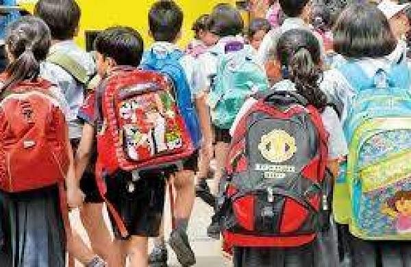 Kids with School bag