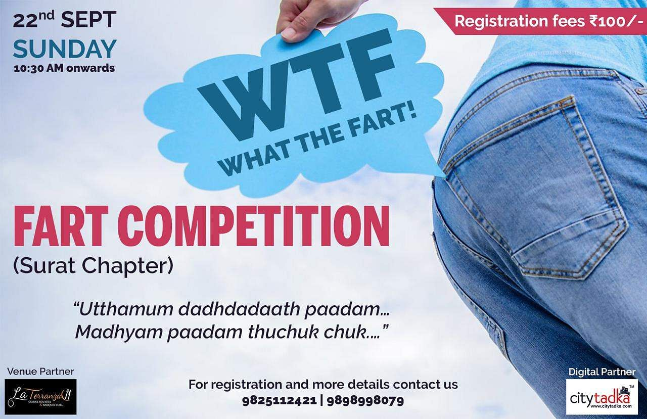 Fart competition