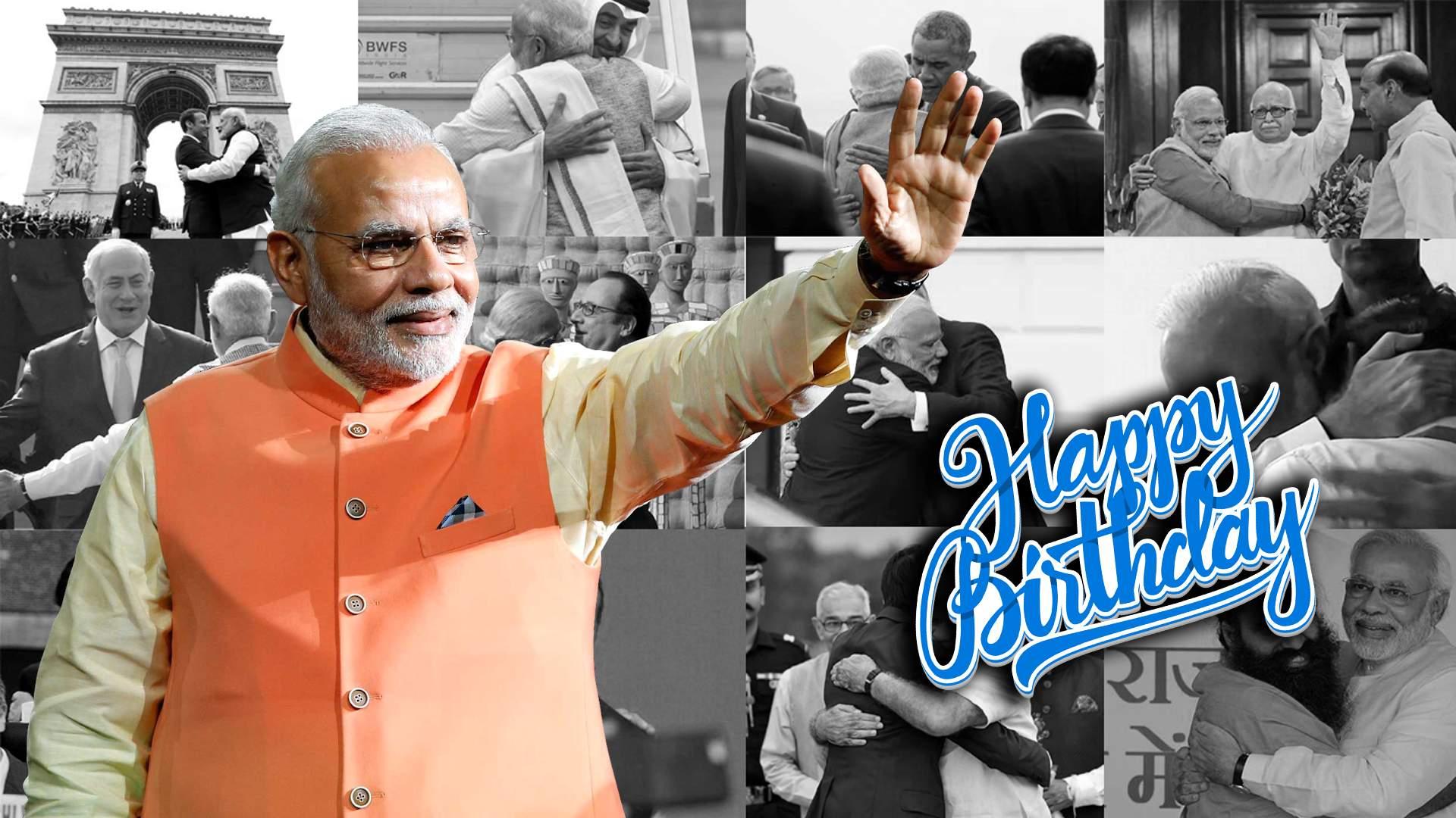 HBD Narendra Modi
