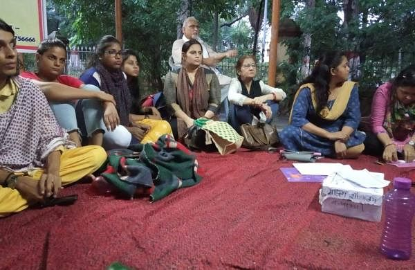 BHU students on hunger strike