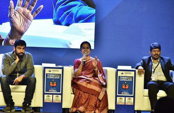 Sandya Rani K was part of the session,Education Innovations: Making Government Schools Work (Pic: P Jawahar)