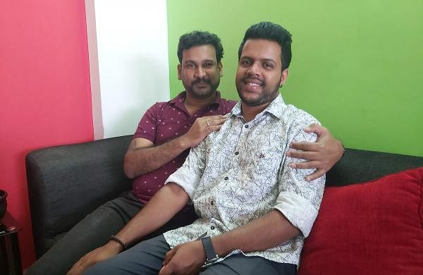 Nikesh and Sonu at their home