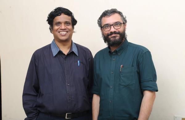 P RajasekharanandShashaank Awasthi, Founders, V-Shesh | Pics: V-Shesh