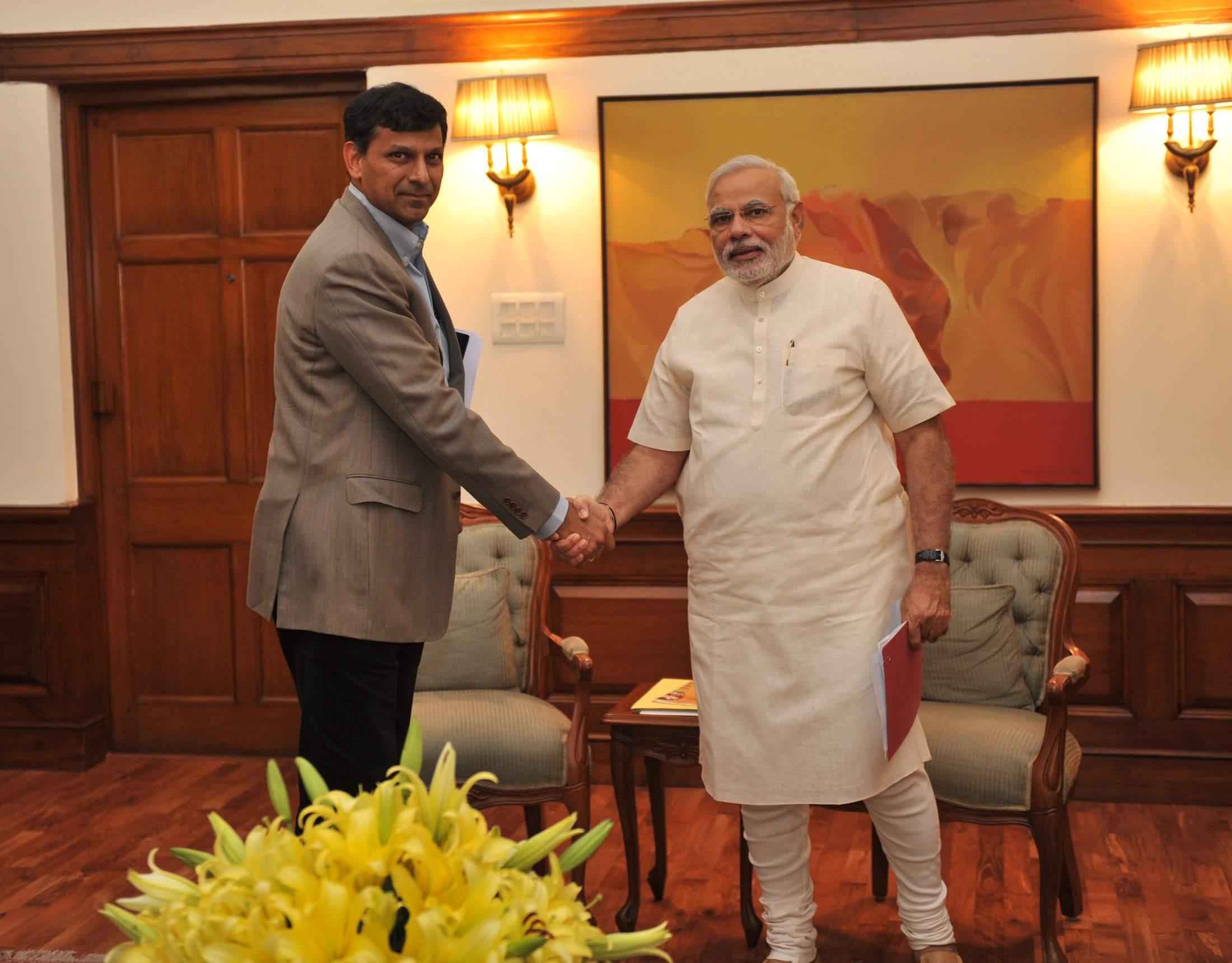 RBI_Governor_Raghuram_Rajan_meets_Prime_Minister_Modi_on_3_June_2014