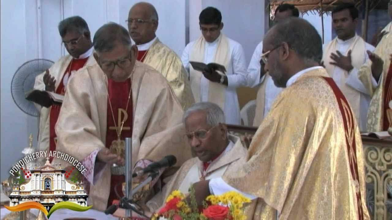 (Pic: Youtube Archdiocese Pondicherry)