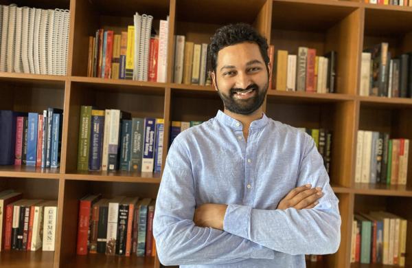 Sriram Devatha, the Author of Indogene (PC: Sriram D)