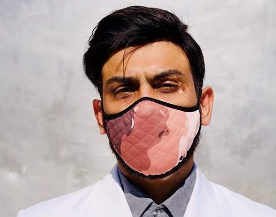 This London Designer S Vitiligo Masks Aim To Fight Stigma Around Skin Conditions During The Covid Pa Edexlive