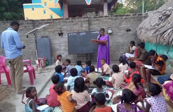 A Single Teacher School
