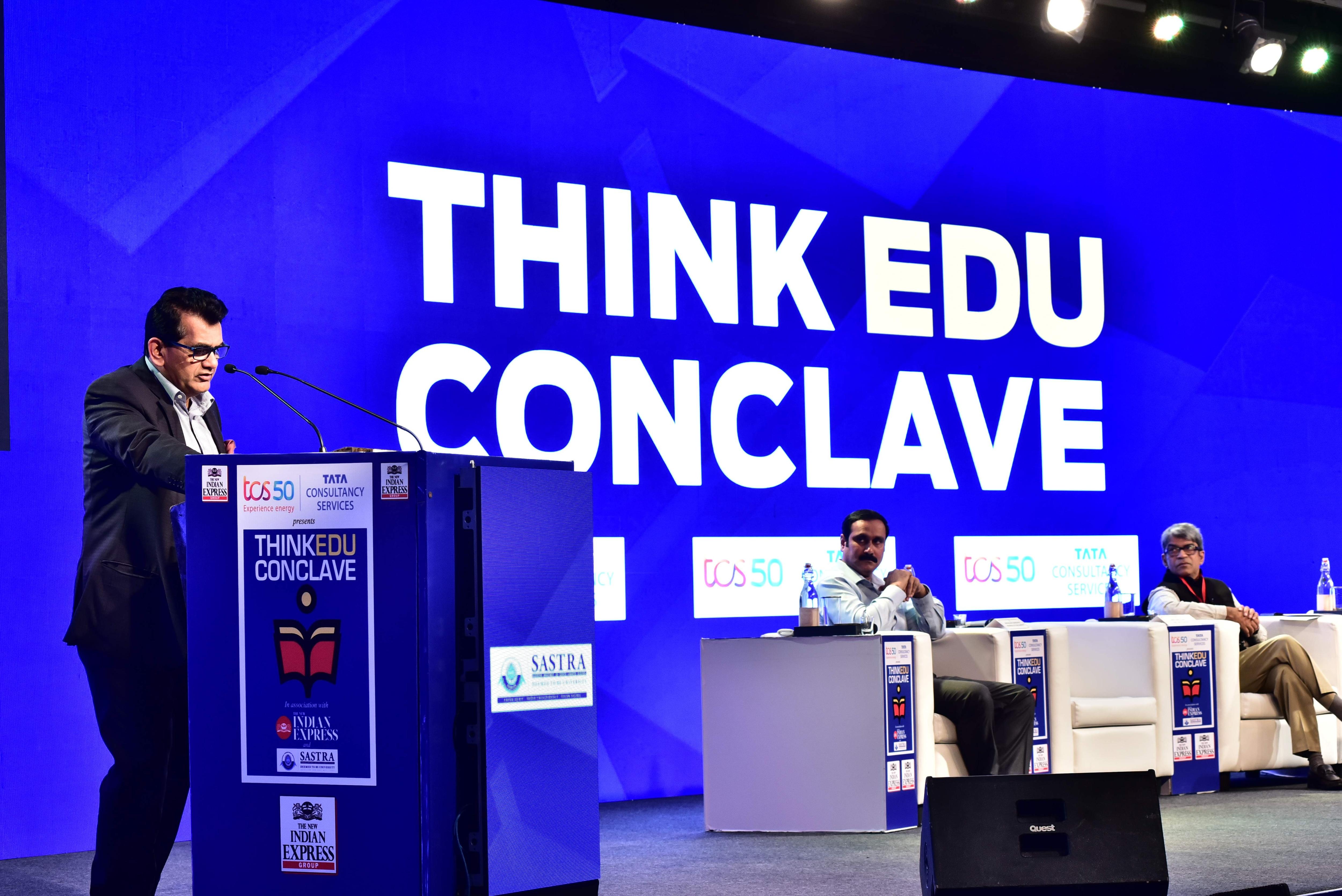 ThinkEdu Amitabh Kant