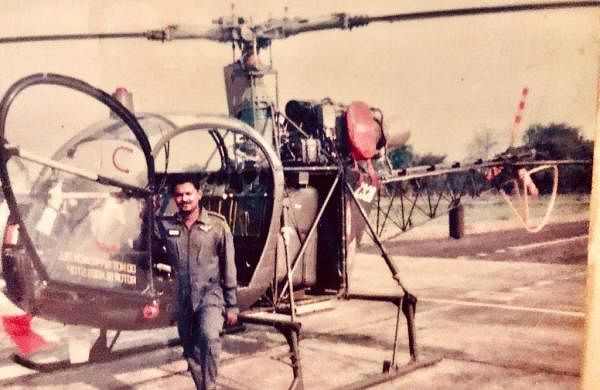 Lt Col Sada Peter at Dinjan Airbase Eastern Assam in 1996