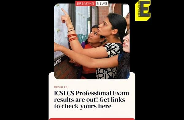 ICSI_CS_Professional_Exam_results_are_out!_Get_links_to_check_yours_here