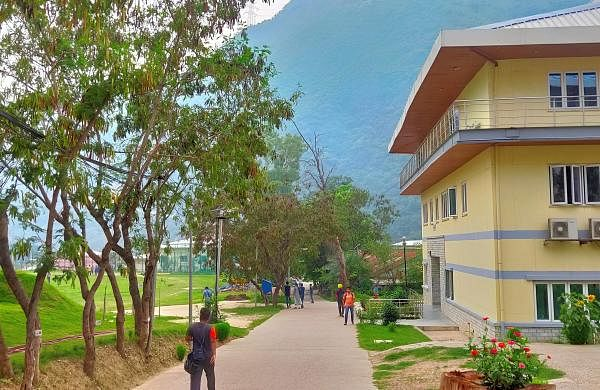 IIT_Mandi_campus_during_summers