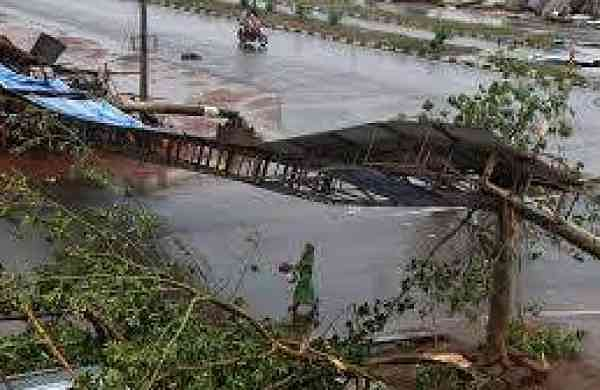 cyclone fani school buildings damaged