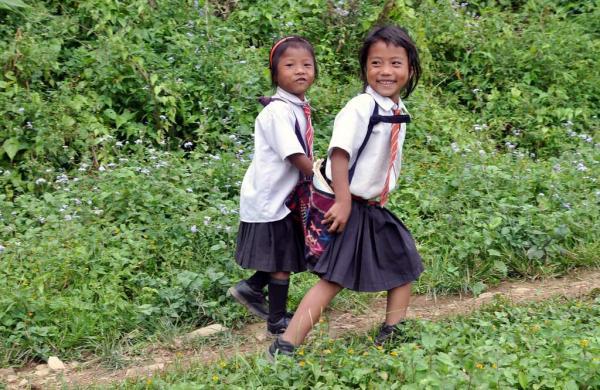 Nagaland_school_children